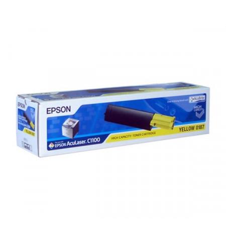 Toner Original Epson Amarelo C13S050187