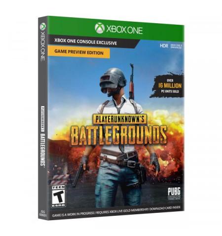 Christmas Games >> Xbox One Playerunknown's Battleground - preço válido p/ unid faturadas até 24 Dez