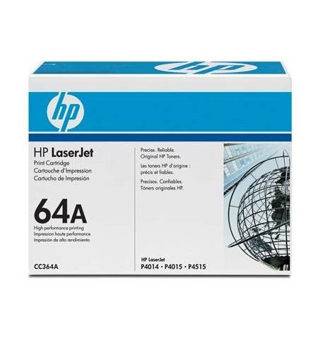 Toner Original HP Preto CC364A