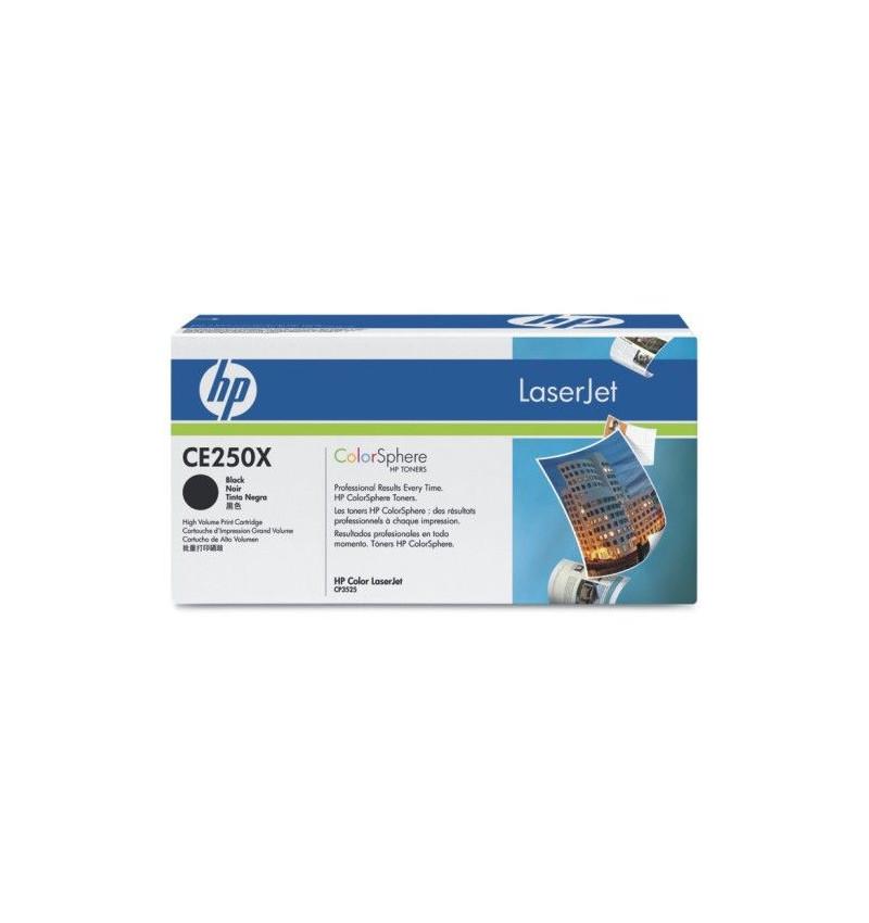 Toner Original HP Black p/ LaserJet CE250X