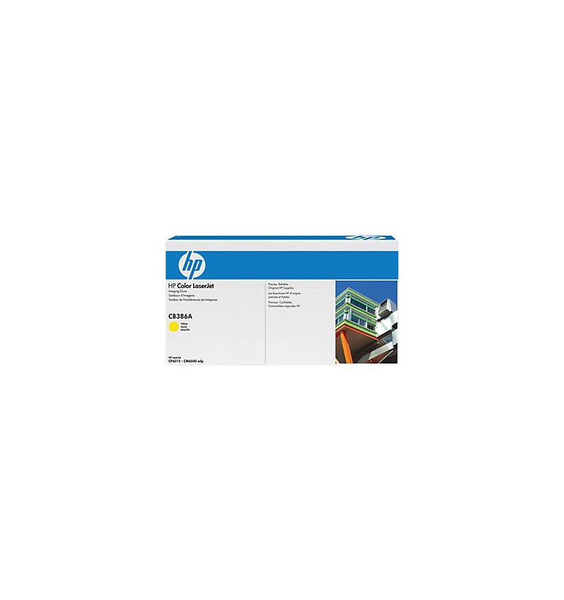 Toner Original HP Yellow p/ LaserJet CB386A