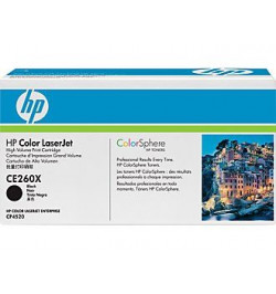Toner Original HP Black CE260X