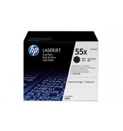 Toner Original HP Black Dual Pack CE255XD