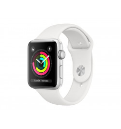 APPLE WATCH S3 38 SL AL WHT SP GPS-YPT - MTEY2QL/A