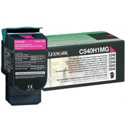 Toner Original Lexmark Magenta p/ C540, C543, C544, X543, X544