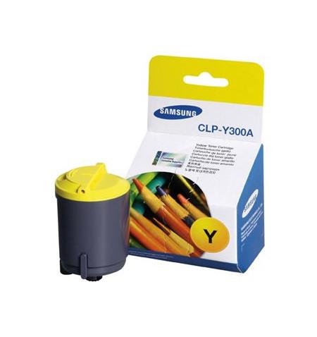 Toner Original Samsung Amarelo CLP-Y300A/ELS