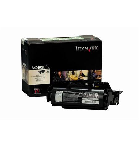Toner Original Lexmark Preto de Retorno 64016SE