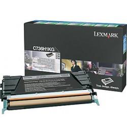 Toner Original Lexmark Preto p/ C73X/X73X