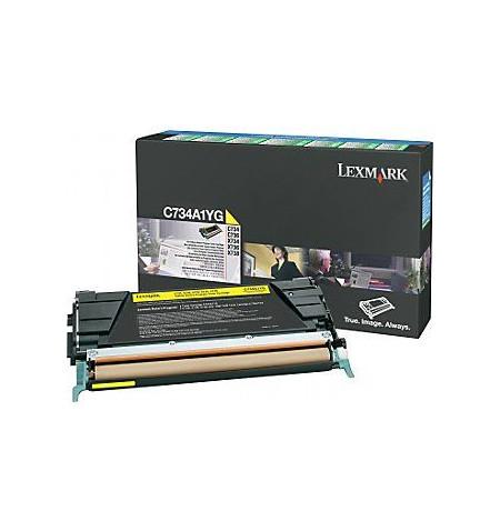 Toner Original Lexmark Amarelo C734A1YG