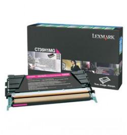 Toner Original Lexmark Magenta p/ C73X/X73X