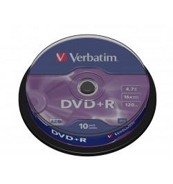 DVD+R VERBATI.16x 4,7GB AZO    -CAKE10