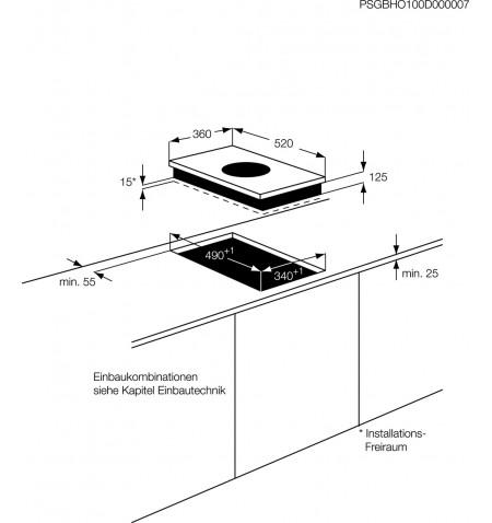 AEG - Placa HC451500EB