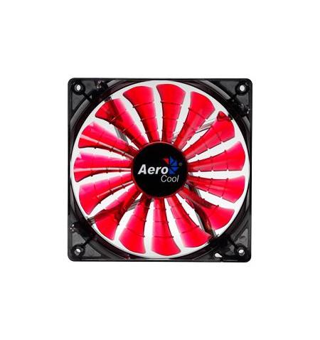 Fan 120 Aerocool SHARK Devil RED