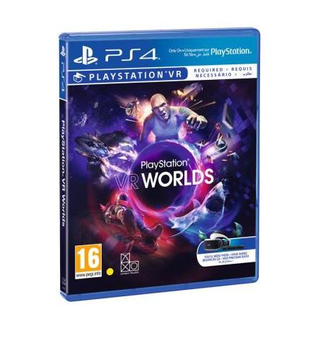 Playstation- Jogo PS4/PS VR VR WORLDS 9855255