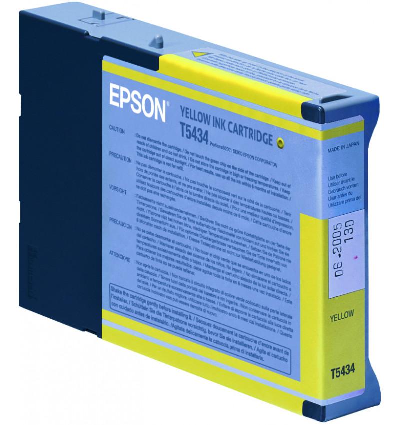 Tinteiro Original  Epson Stylus Pro 7600/9600 Amarelo C13T543400