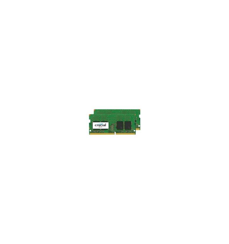 Crucial 16GB Kit8GB x2 DDR4 2400 MT/sPC4- SR x8