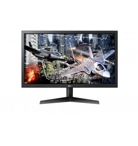"""Monitor LG LED   23,6""""FHD 1920 x 1080, 1ms, 2xHDMI, Display Port, preto/vermelho"""