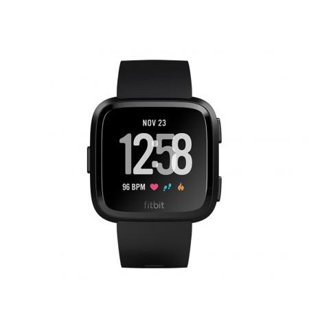 Fitbit Versa NFC Black/Black Aluminum EU - FB505GMBK-EU
