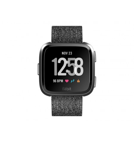 Fitbit Versa NFC SE Charcoal Woven EU - FB505BKGY-EU