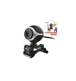 Trust Webcam Exis- Black/Silver