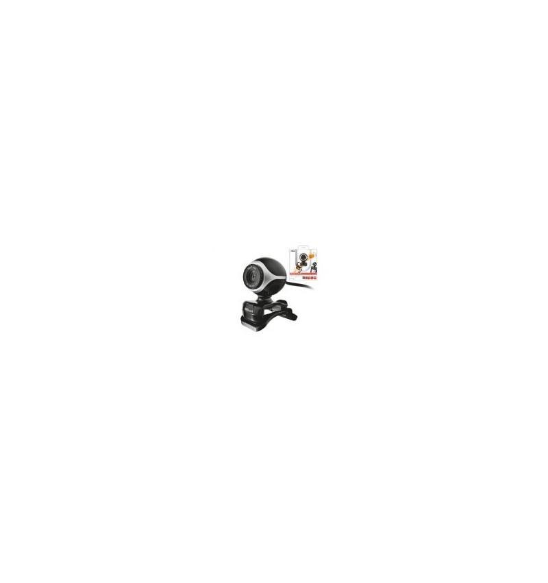 Trust Webcam Exis- Black/Silver