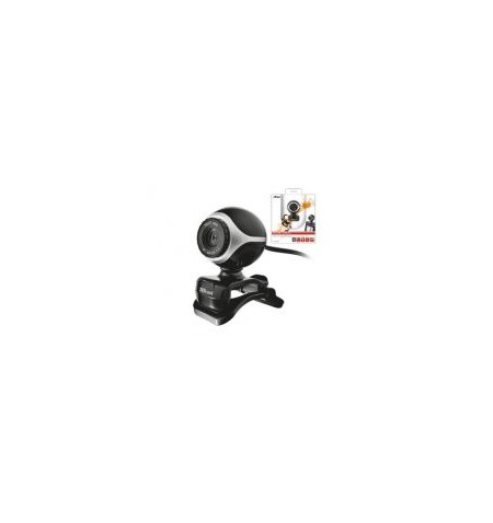 Trust Webcam Exis- Black/Silver ( 17003 )