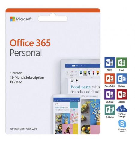 APPLE MPI Card Office 365 Personal PC & Mac 1Yr - LEVANTE JÁ EM LOJA