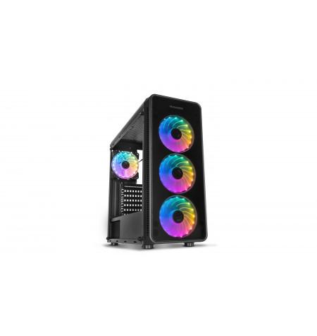 Caixa Nox Hummer TGM RGB - Mid-Tower ATX - N/A - NXHUMMERTGM