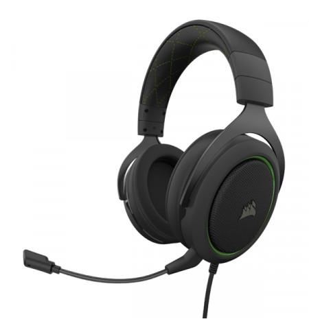 Headset Corsair HS50 PRO Stereo Green - CA-9011216-EU Levante Já em Loja