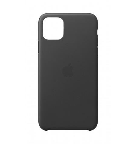 Capa em pele para iPhone 11 Pro Max - Preto