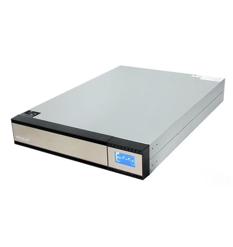 "UPS Phasak PRO–RACK 1500 VA Online LCD 19"""
