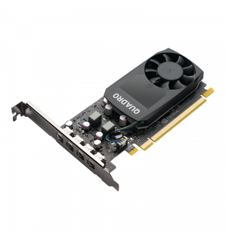 VGA PNY nVIDIA QUADRO P1000 V2 4GB GDDR5 PCIe 3.0 16x 4 miniDP1.4 c/LP bracket