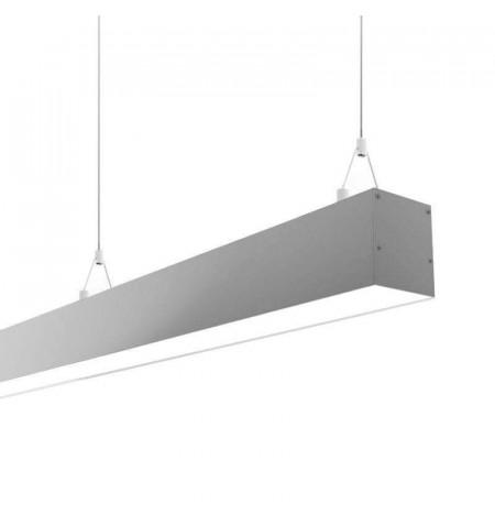 Lámpara colgante SERK UP, 50W, 120cm, TRIAC regulable, Blanco neutro, regulable