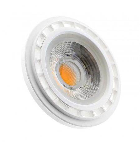 Foco Led AR111, GU10, COB, 15W, Blanco cálido