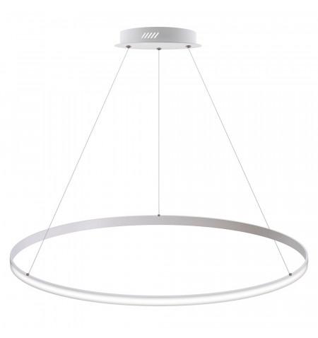 Luminaria colgante CYCLE OUT, 95W, blanco, Ø100cm, Blanco neutro