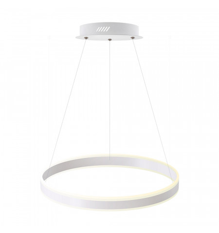 Luminaria colgante RING UP 50W, Ø400mm, CCT regulable, Blanco dual, regulable