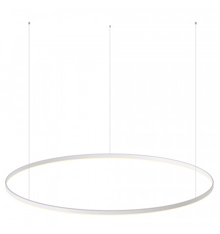 Luminaria colgante RING 95W, Ø1500mm, Blanco cálido