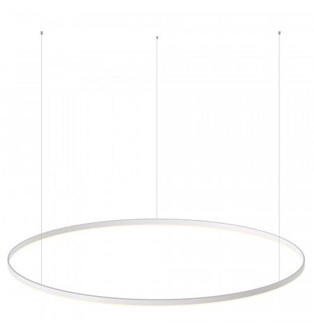 Luminaria colgante RING 95W, Ø1500mm, Blanco frío