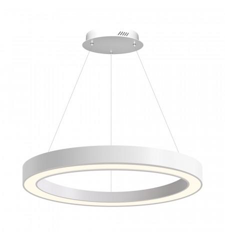 Luminaria colgante RING, Ø800-6575mm, 40W, blanco, Blanco neutro