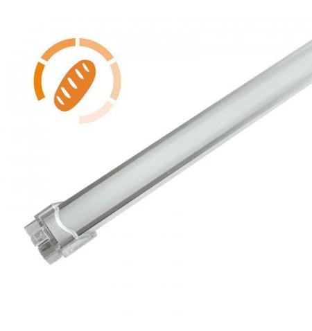 Barra LED Profresh, 18W, 116cm, Pan y repostería, Blanco cálido 2700K