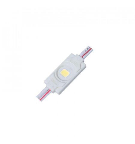 Módulo Led ABS Monocolor, 1xSMD2835, 0,36W, Blanco frío