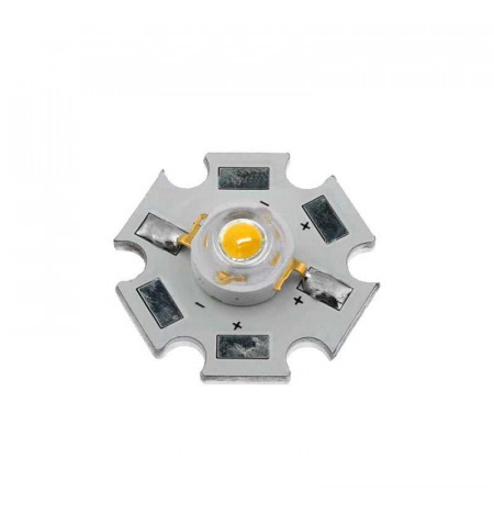 Chip led High Power Bridgelux 1x1W, Blanco frío