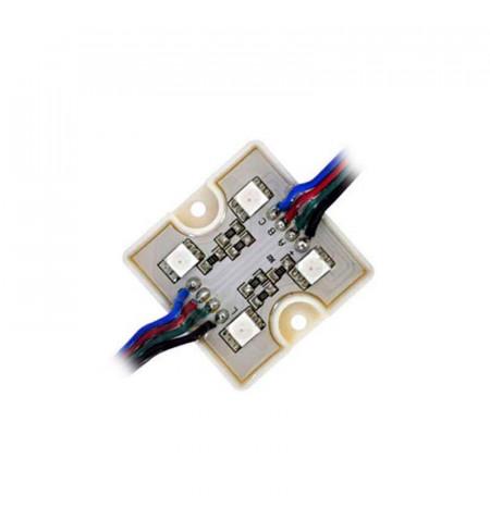 Módulo Led  RGB 4xSMD5050, 1,44W, RGB