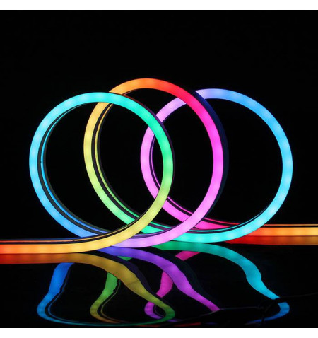 Led NEON Flex, 12x20mm, DC24V, 120Led/m, 5m, RGB, RGB