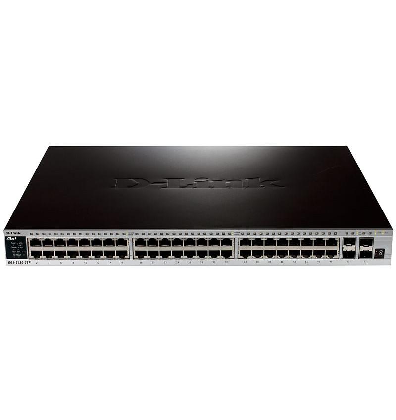 Switch D-Link ( DGS-3420-52P )