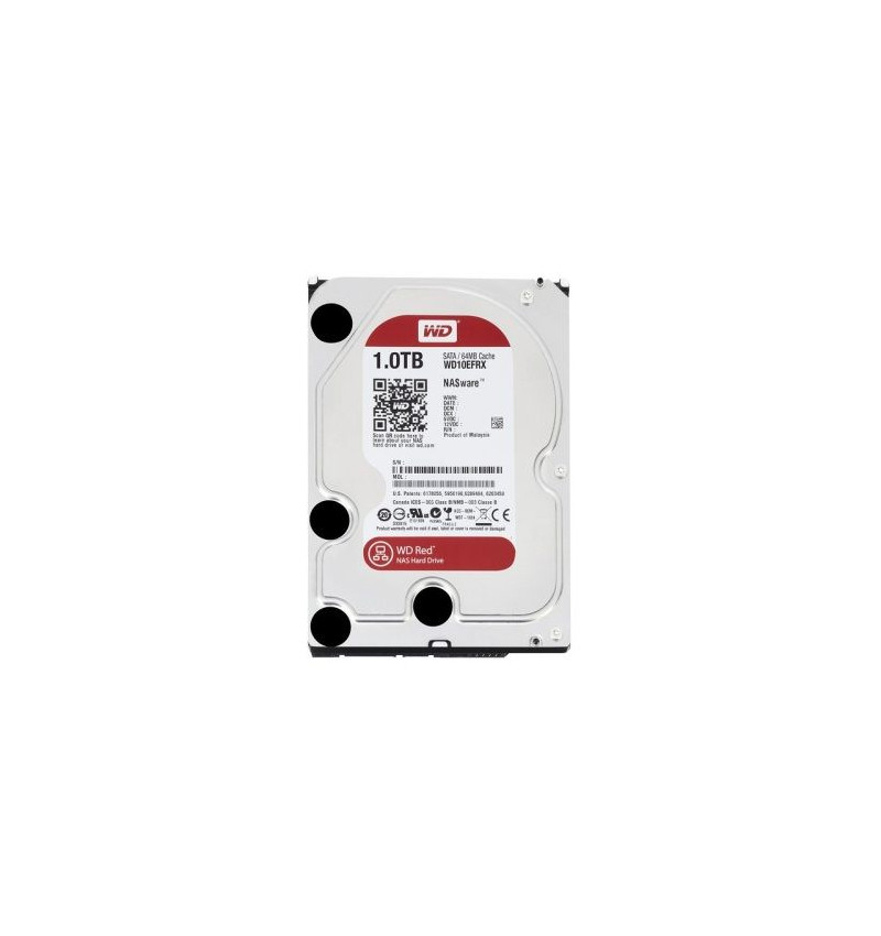 Disco Western Digital 1TB 64Mb SATA6Gb/s Red ( WD10EFRX )