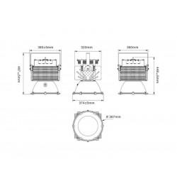 Proyector High Power 400W, Blanco frío