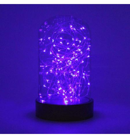 Fanal decorativo LED BODE, regulable, Blanco cálido, regulable