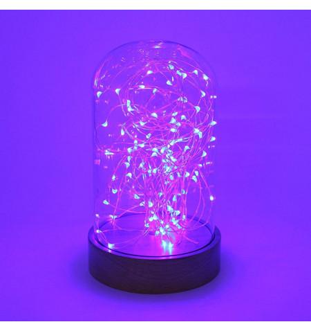 Fanal decorativo LED BODE, regulable, RGB