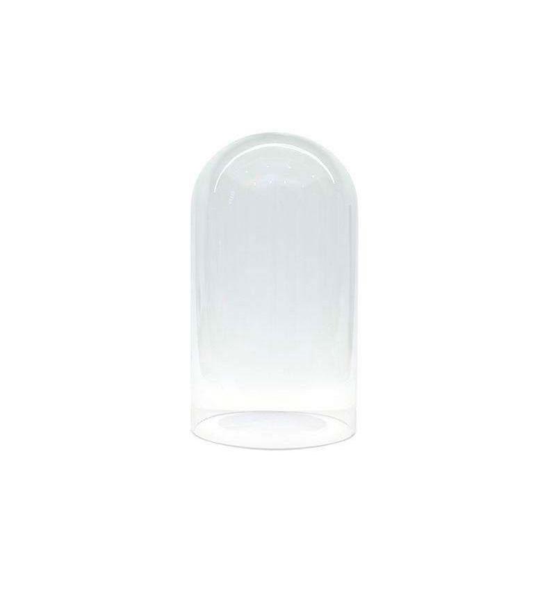 Fanal de cristal Ø12 altura 20cm